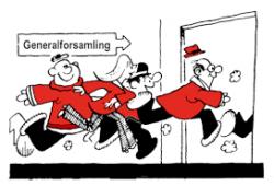 Indkaldelse til Generalforsamling i Thurø Sejlklub